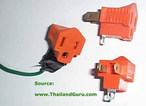 electrical grounding or earthing rh thailandguru com  us grounded plug wiring